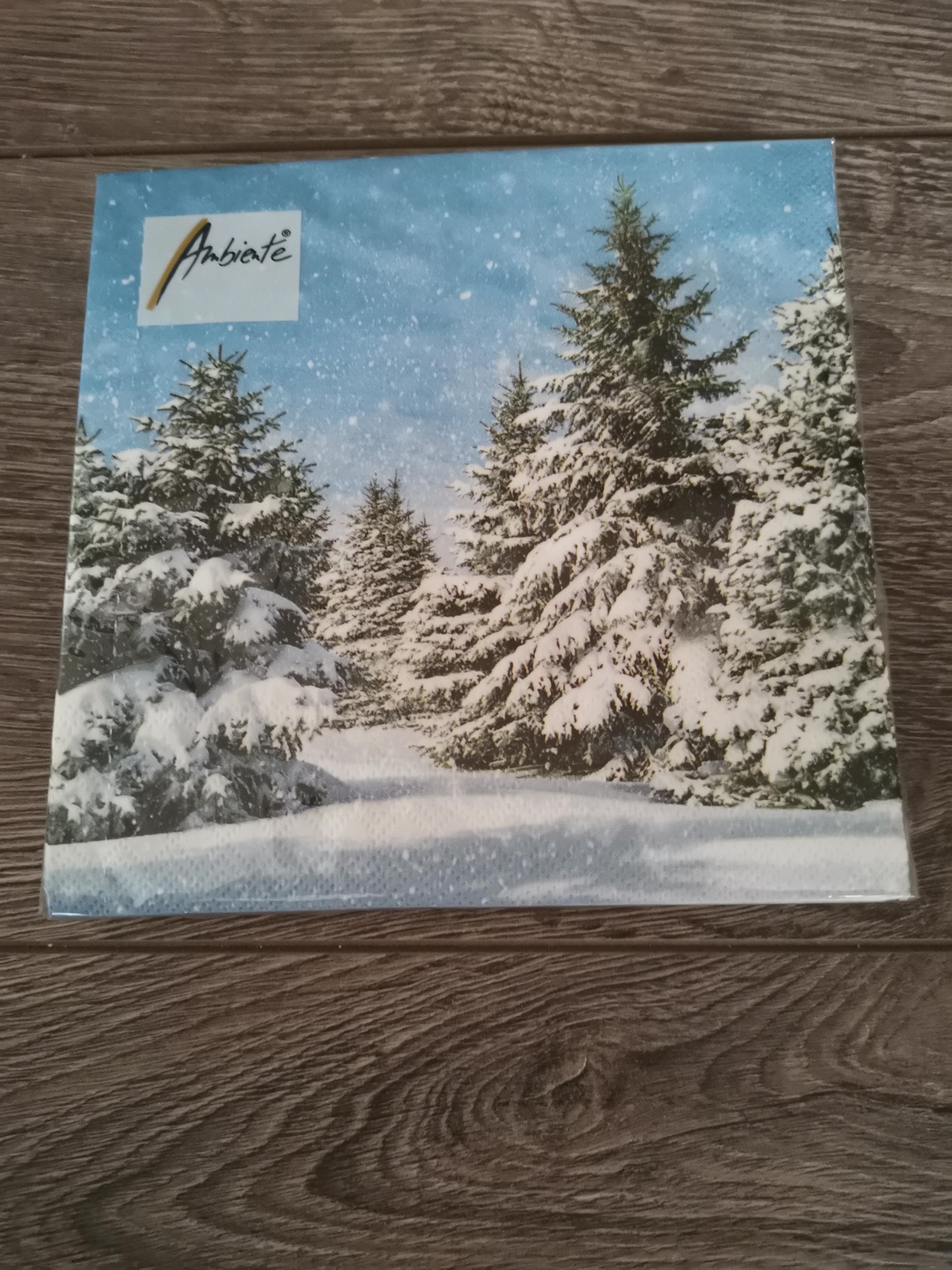 Servet Trees in Snow