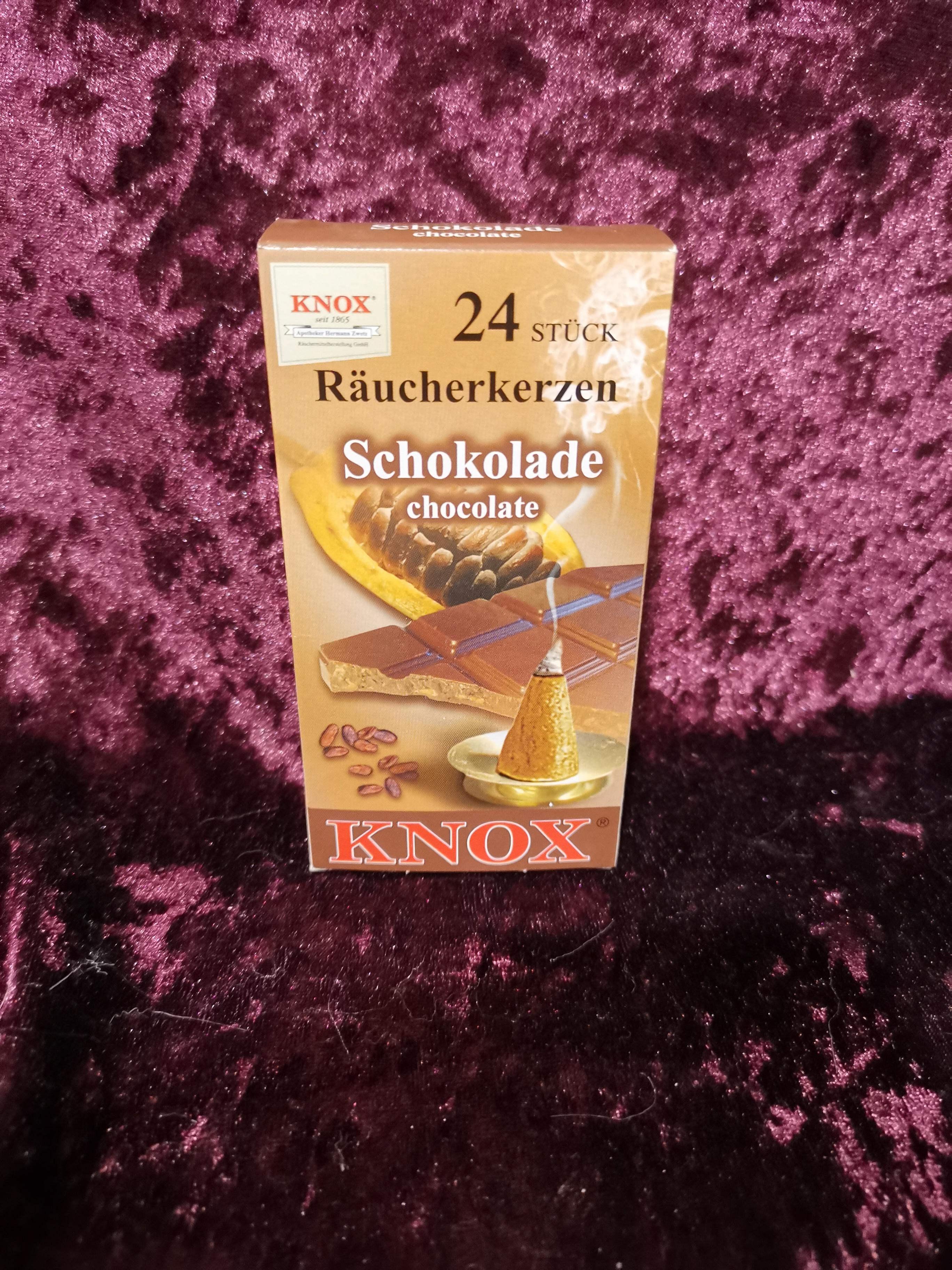 Rookkaarsen Chocolade (wierook)